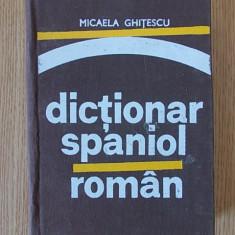 GHITESCU- DICTIONAR SPANIOL ROMAN- cartonata - Curs Limba Spaniola
