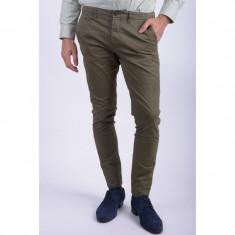 Pantaloni Bumbac Jack&Jones Marco Earl Chino Slim Fit Kaki - Pantaloni barbati, Marime: 31, 33, Culoare: Khaki