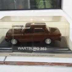 Macheta metal wartburg 353 + revista masini de legenda nr.12 - Macheta auto, 1:43