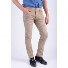 Pantaloni Barbati Jack&Jones Tim Original Pant Slim Fit Elmwood, Marime: 33, Culoare: Bej