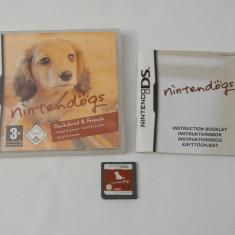 Joc consola Nintendo DS - Nintendogs - complet carcasa si manual - Jocuri Nintendo DS, Actiune, Toate varstele, Single player