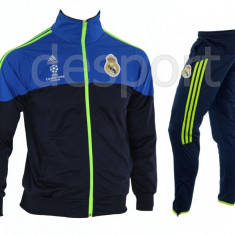 Trening REAL MADRID - Bluza si pantaloni conici - Modele noi - Pret Special 1223 - Trening barbati, Marime: XL, XXL, Culoare: Din imagine