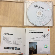 ‎DJ Darkzone Presents Club Atmosphere compilatie cd disc muzica trance house, roton