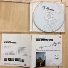 DJ Darkzone Presents Club Atmosphere compilatie cd disc muzica trance house - Muzica House roton