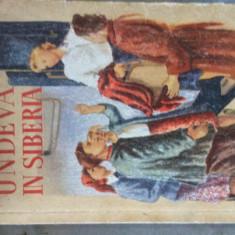 UNDEVA IN SIBERIA - IRINA IROSNICOVA - 1951 - ILUSTRATII MARIA CONSTANTIN - Roman