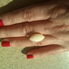 6.55 ct  opal alb taiat marquise