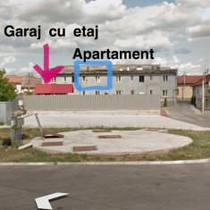 Apartament 2 camere, garaj și boxă - Apartament de vanzare, Numar camere: 2, Etajul 1