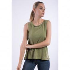 Maieu Vero Moda Vmlex Sl Top Ivy Green - Tricou dama Vero Moda, Marime: M, Culoare: Khaki