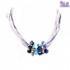 Colier Calypso Bleu - Colier perle