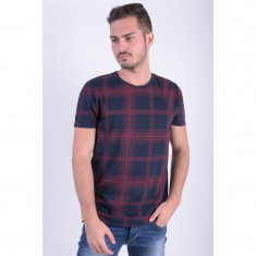Tricou Jack&Jones Jjorwert Tee Ss Crew Neck Regular Fit Dress Blue / Port