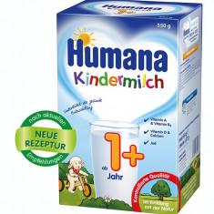 Lapte praf Humana Kindermilch 1+, pentru copii de la 1 an la 2 ani - Lapte praf bebelusi