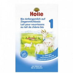 Lapte praf de capra pentru bebelusi, Holle Organic 1, de la nastere - Lapte praf bebelusi