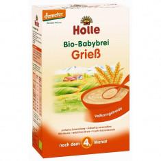 Cereale Holle Bio grau integral fara lapte, bebelusi de la 6 luni - Cereale copii