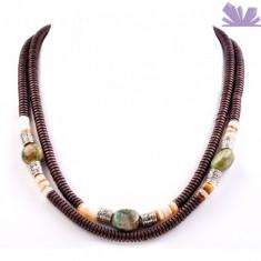 Colier Clara Crisocola - Colier perle