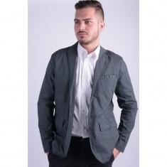 Sacou Only&Sons Onsadam Blazer Grey Prinstripe - Sacou barbati, Marime: L, Culoare: Gri