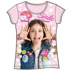 Tricou cu maneca scurta Disney Soy Luna, Marime: XS, Culoare: Roz