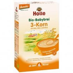 Cereale Holle Bio orez porumb mei fara lapte, bebelusi de la 6 luni - Cereale copii