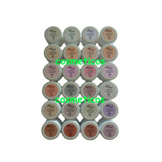 Set 24 GELURI COLORATE Miley NUDE / unghii false /geluri UV /colorate/ natural - Gel unghii Canni