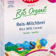Topfer cereale bio orez vanilie cu lapte de la 4 luni - Cereale copii