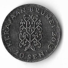 Moneda 20 sen 2013 - Brunei, Africa