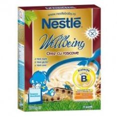 Cereale Nestle orez cu roscove fara lapte, de la 4 luni - Cereale copii