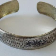 Bratara argint vintage reglabila -1870