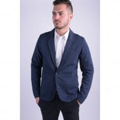 Sacou Selected Shumarcus Sweat Blazer Navy Blazer - Sacou barbati, Marime: L, Culoare: Bleumarin