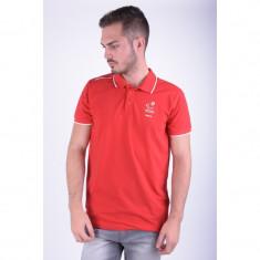 Tricou Polo Jack&Jones M-d Tricou Polo Chinese Red - Tricou barbati, Marime: L, Culoare: Rosu