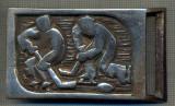 ZET 1432 PAFTA METALICA(CATARAMA) - HOCHEI - PENTRU COLECTIONARI