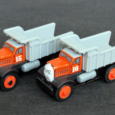Thomas and Friends ✯ Rare Wooden Railway ✯ MAX si MONTY ✯ Magnet Vehicles ✯ 2003, Locomotive