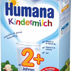 Lapte praf Humana Kindermilch 2+, pentru copii de peste 2 ani - Lapte praf bebelusi