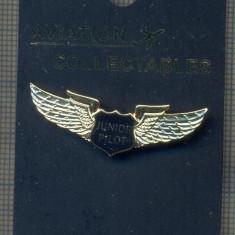 ZET1459 INSIGNA AVIATIE - JUNIOR PILOT WINGS -STAREA CARE SE VEDE