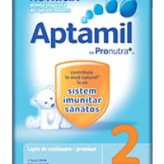 Lapte praf Aptamil 2 de la 6 la 9 luni - 800g - Lapte praf bebelusi