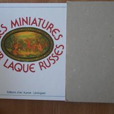 LES MINIATURES SUR LAQUE RUSSES, FEDOSKINO, PALEKH- miniaturi rusesti - Album Pictura