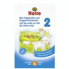 Lapte praf de capra pentru bebelusi Holle Organic 2, de la 6 luni - Lapte praf bebelusi