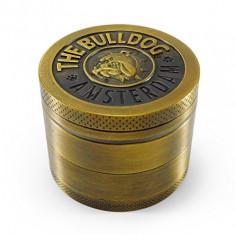 Grinder Metalic Tutun Marijuana Ierburi Amsterdam Bulldog Filtru Polen Kozo