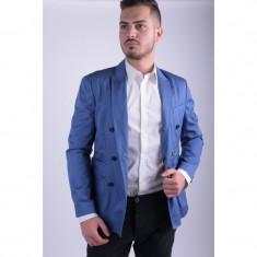 Sacou Jack&Jones Jjprdrew Blazer Slim Fit Monaco Blue - Sacou barbati, Marime: 50, Culoare: Albastru