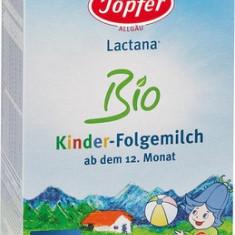 Lapte praf Topfer Lactana Bio Kinder, pentru copii de la 1 an, 500g - Lapte praf bebelusi