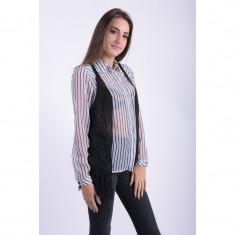 Vesta Pieces Pcbolette Knit Vest Negru - Vesta dama PIECES, Marime: S/M