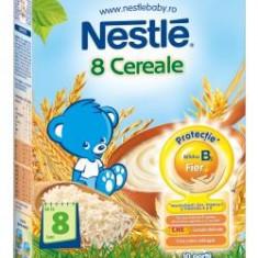 Cereale bebelusi Nestle 8 Cereale Bifidus, fara lapte, de la 8 luni - Cereale copii