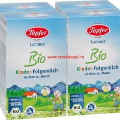 Lapte praf Topfer Bio Lactana Kinder PACHET ECONOM 4x500g - Lapte praf bebelusi