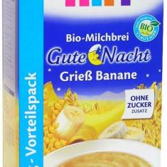 Cereale de noapte bebelusi Hipp Bio gris banane cu lapte, de la 6 luni - Cereale copii