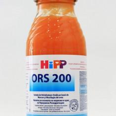 Hipp ORS 200 bautura de rehidratare cu morcovi si orez pentru bebelusi peste 4 luni