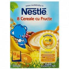 Cereale bebelusi Nestle 8 Cereale cu Fructe, 12-36 luni - Cereale copii
