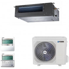 Aparat aer conditionat tip duct York YEKE55BXOEBM-RX/YUKE55BYOEBMO-X (380V) Clasa A++ 55000BTU, Inverter, A++, Caseta