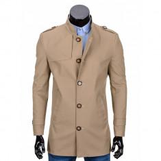 Trench barbati stil palton C269 - DISPONIBIL IN 4 CULORI, Albastru, Bej, Gri, Negru