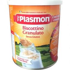 Biscuiti granulati fara gluten Plasmon, pentru bebelusi de peste 4 luni