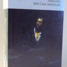 AMINTIRI DIN CASA MORTILOR de F.M. DOSTOIEVSKI, 2017 - Carte in alte limbi straine