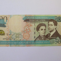Republica Dominicana 500 Pesos 2011 - bancnota america