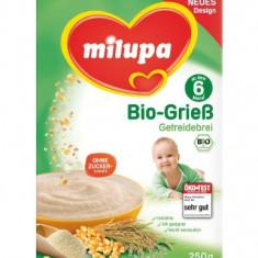 Milupa BIO orez porumb tapioca fara lapte, de la 6 luni - Cereale copii